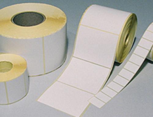 Etykiety białe